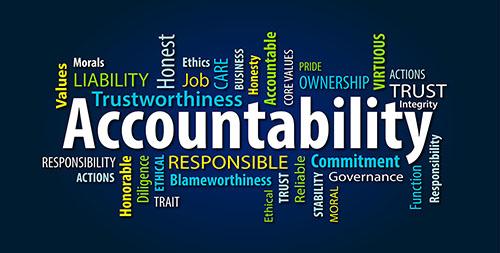 Accountability, A Necessity